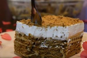 Chocotorta από την Αργεντινή: Γλυκό με μπισκότα, καραμέλα γάλακτος και τυρί κρέμα