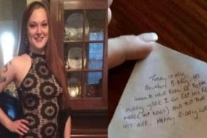 Ένας άνδρας άφησε 36$ φιλοδώρημα και έφυγε γρήγορα αφήνοντας πίσω του ένα σημείωμα - Η σερβιτόρα που τα βρήκε ξέσπασε σε λυγμούς