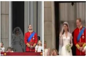 Εικόνα σοκ: Το φάντασμα της πριγκίπισσας Νταϊάνα στον γάμο του πρίγκιπα Ουίλιαμ