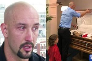 Πατέρας δημοσίευσε φωτογραφία από το φέρετρο της νεκρής μητέρας και του παιδιού του - Ο λόγος που έχασαν την ζωή τους, σοκάρει