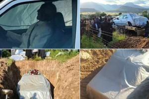 72χρονος αντί για φέρετρο θάφτηκε μέσα στο αυτοκίνητό του - Η τελευταία του επιθυμία που πραγματοποιήθηκε (Video)