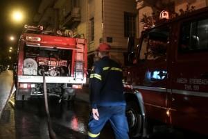Φωτιά στη Λαχαναγορά στου Ρέντη