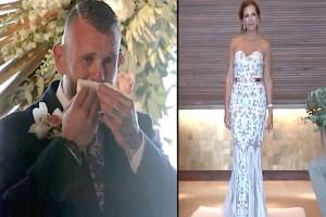 Η νύφη στάθηκε ακίνητη και σήκωσε το χέρι της - Τότε ο γαμπρός κατάλαβε τι έκανε