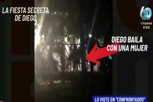 Αδιανόητος Ντιέγκο Μαραντόνα: «Έσπασε» την καραντίνα και πήγε να βρει… τη συνοδό του!