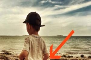 Δημοσίευσε αυτή την φωτογραφία του 3χρονου γιου της και όλοι την έβρισαν - Μόλις την δείτε ολόκληρη θα καταλάβετε
