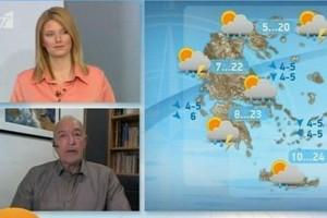 «Η χειρότερη μέρα θα είναι η...» - Προειδοποίηση του Τάσου Αρνιακού για την εξέλιξη της κακοκαιρίας (Video)