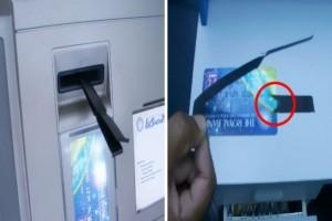 Μεγάλη απάτη στα ΑΤΜ - Αν δείτε αυτό στην υποδοχή κάρτας τότε...