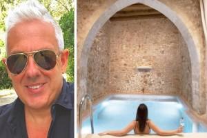 Τάσος Δούσης: Το ονειρικό ξενοδοχείο στην Ελλάδα που ήταν αρχοντικό του 16ου αιώνα
