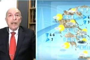 Τάσος Αρνιακός: Άσχημα τα νέα για το Σαββατοκύριακο - Καιρός εφιάλτης