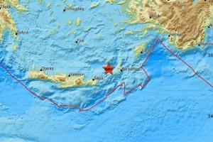 Σεισμός 3,2 Ρίχτερ στην Κρήτη