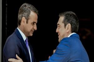Δημοσκόπηση Opinion Poll: Μεγάλο προβάδισμα για τη ΝΔ - Καταλληλότερος πρωθυπουργός ο Κυριάκος Μητσοτάκης