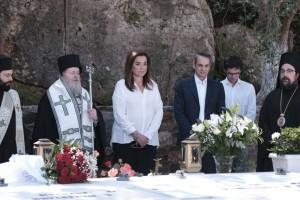 Στα Χανιά ο πρωθυπουργός - Συγκίνηση στο μνημόσυνο του Κωνσταντίνου Μητσοτάκη (Video)