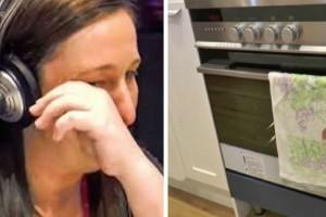 Όταν ήταν έγκυος ο άντρας της την εγκατέλειψε - Σήμερα ανοίγει την πόρτα του φούρνου και «παγώνει»