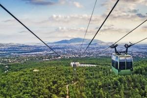 Η φωτογραφία της ημέρας: Υπέροχη θέα από την Πάρνηθα