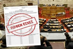 Πόθεν έσχες: Δείτε αναλυτικά τις δηλώσεις βουλευτών, ευρωβουλευτών και υπουργών (Video)