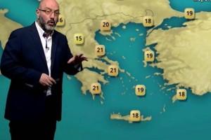 «Η χειρότερη μέρα με πολύ άστατο καιρό θα είναι η...» - Ο Σάκης Αρναούτογλου προειδοποιεί