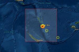 Σεισμός 5,5 Ρίχτερ στο νότιο Ειρηνικό Ωκεανό
