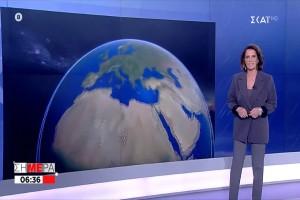 «Ισχυρές καταιγίδες για το Σαββατοκύριακο σε αυτά τα μέρη» - Πρόγνωση του καιρού από την Χριστίνα Σούζη
