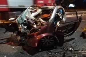 Εικόνες που κόβουν την ανάσα: Σοκαριστικό τροχαίο στη Λ. Μαραθώνος