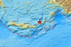 Σεισμός μεγέθους 3,3 Ρίχτερ στην Κρήτη