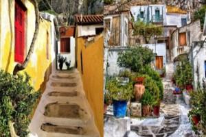 Η γραφική γειτονιά της Αθήνας που θυμίζει κυκλαδίτικο νησί και είναι μία από τις ομορφότερες στην Ελλάδα
