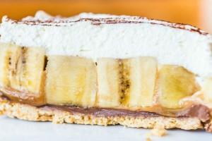Γλυκό ψυγείου με μπανάνες, ζαχαρούχο γάλα και άλλα 5 υλικά