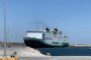 """Συναγερμός στο λιμάνι του Ρεθύμνου: Προσέκρουσε το πλοίο """"Olympus"""""""