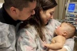 5 μηνών βρέφος «νίκησε» τον κορωνοϊό - Έπειτα από 54 ημέρες στο νοσοκομείο και 32 ημέρες σε κώμα