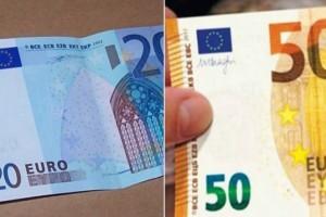 Πλαστά χαρτονομίσματα των 20 και 50 ευρώ: Αν έχουν αυτό πάνω είναι ψεύτικα!