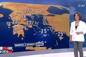 «Βελτιωμένος ο καιρός αλλά...» - Η πρόγνωση της Χριστίνας Σούζη μέχρι και το Σαββατοκύριακο (Video)