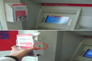 """Μεγάλη απάτη στα ΑΤΜ- Δείτε που κρύβουν κάμερα για να """"διαβάζει"""" την κάρτα σας"""