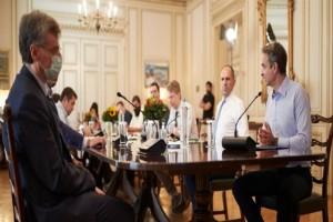 Κυριάκος Μητσοτάκης: Τα μέτρα που αποφάσισαν στην έκτακτη σύσκεψη