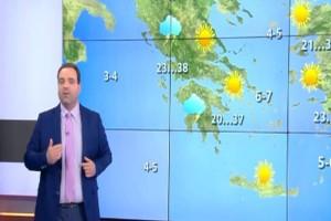 """""""Το απόγευμα θα ξεσπάσουν καταιγίδες..."""": Ο Κλέαρχος Μαρουσάκης προειδοποιεί"""