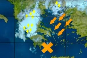 """""""Ψυχρή λίμνη πάνω από την Ελλάδα..."""": Ο Κλέαρχος Μαρουσάκης προειδοποιεί!"""