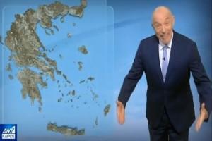 """""""Περιμένουμε βροχές και τοπικές καταιγίδες σε..."""" - Προειδοποίηση από τον Τάσο Αρνιακό"""
