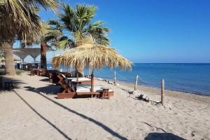 αγιοι αποστολοι παραλία για καφε