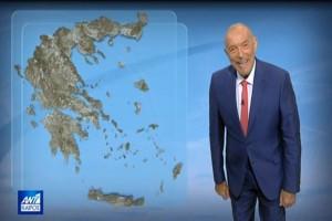 «Ασανσέρ ο υδράργυρος και πιθανότητα βροχών στην...» - Πρόγνωση του καιρού από τον Τάσο Αρνιακό