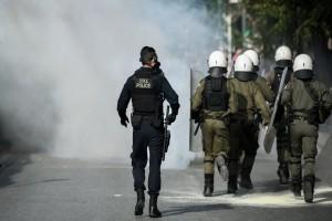 Εντάσεις στο κέντρο της Αθήνας - Κλειστή η Πατησίων