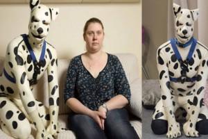 33χρονος ζει ως πραγματικός σκύλος με την πρώην γυναίκα του