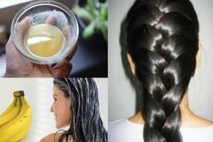 Ανακατεύει μπανάνα με αυγό και άλλα 2 υλικά και το βάζει στα μαλλιά της - Τέλος στον εφιάλτη