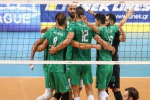 "Volley League: ""Σκληρή εκδίκηση"" για τον Παναθηναϊκό - 3-0 απέναντι στον ΠΑΟΚ"