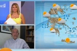 Προσοχή! Επιστρέφουν οι καταιγίδες... Η προειδοποίηση του Τάσου Αρνιακού (Video)
