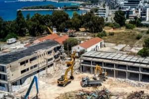 Ελληνικό: Μπήκαν οι μπουλντόζες - Ξεκίνησαν οι κατεδαφίσεις (photos)