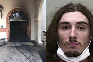 24χρονος έριξε βενζίνη και έβαλε φωτιά σε εκκλησία κατά τη διάρκεια της λειτουργίας - Τρόμος στις ΗΠΑ