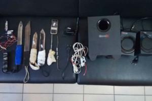 Από ναρκωτικά και μαχαίρια μέχρι... woofer και ηχεία - Σοκάρουν τα ευρύματα στις φυλακές Κορυδαλλού και Δομοκού (photos)