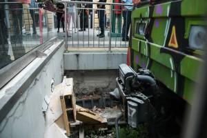 Κηφισιά: Οι πρώτες εικόνες από το ατύχημα με τον συρμό του ΗΣΑΠ