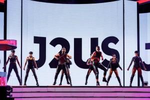 J2US Highlights: Το παράπονο της Βανδή, ο... ημίγυμνος Τρύφωνας Σαμαράς και τα ζευγάρια που πέρασαν στον τελικό