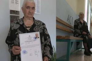 86χρονη γιαγιά από την Κοζάνη πήρε πτυχίο Βοηθού Νοσηλευτή από Επαγγελματικό Λύκειο