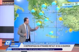 """""""Οι καταιγίδες φεύγουν και τα μελτέμια έρχονται..."""": Ο Κλέαρχος Μαρουσάκης προειδοποιεί"""