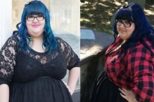"""""""Όλοι με φώναζαν το τέρας με τα μπλε μαλλιά. Παντρεύτηκα, έχασα 104 κιλά και έγινα μοντέλο"""""""